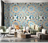 Wallpapers Papel De Parede Modern Luxury Abstract Geometric 3d Wallpaper Mural,living Room Tv Wall Bedroom Kitchen Papers Home Decor