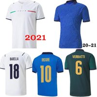 2021 Итальянские футбольные трикотажки 2022 Italia Barella Sensi Insigne 20 21 22 Европейский Кубок Chiellini Bernardeschi мужской + Детский джерси