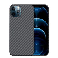 Pure Real Carbon Fiber Case For iPhone 13 12 11 Pro Max 12 mini Case Aramid Fiber Ultra Thin Shockproof Business Phone Cover H1009