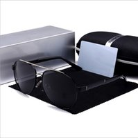 Men's sunglasses toad glasses outdoor driving beach hip hop street shooting 4 seasons available 5 colors optional with box