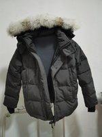 Top Brand Big Wolf Fur Men's Down Parka Winter Jacket Arctic Navy Black Green Red Outdoor Hoodies Shipping