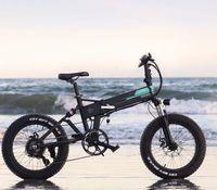 Fiido m1 pro elektrisches Fahrrad 20 Zoll Fettreifen 12.8ah 48 V 500 Watt falten Moped Fahrrad 50km / h Höchstgeschwindigkeit 130km Kilometerraum inklusive Mehrwertsteuer