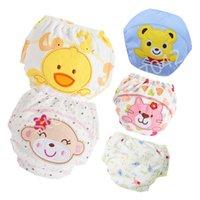 Baby Baumwolle Training Hosen Höschen Baby Windeln Wiederverwendbare Tuch Windel Windeln Waschbare Säuglinge Kinder Unterwäsche Wickelwechsel