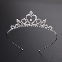 Beautiful Shiny Crystal Bridal Tiara Party Plated Crown Hairband Wedding Accessories