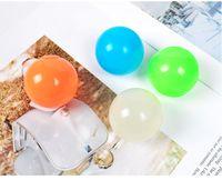Plafond Sticky Wall Ball Lumineux lueur dans les boules anti-stress squishy sombre squishy street street squeting adulte enfants jouets cadeau