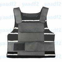 Trendy Letters Flower Printed Vest Latest Outdoor Hip Hop Tanks Top for Women Men Vintage Leather Adjustable Tactical Vests