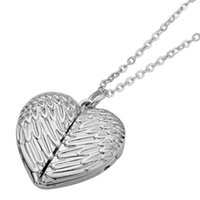 fashion Big Wings Necklaces Pendants Sublimation Blanks Car Pendant Angel Wing Rearview Mirror Decoration Hanging Charm Ornaments