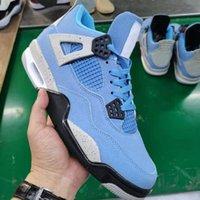 Jumpman 4s Basquetebol Shoes Sombra Us13 Homens destemidos Hyper Real Universidade Azul Obsidiana UNC UNCOBRADA BLOODO 3.0 SPORTS Size 36 ~ 47 com metade