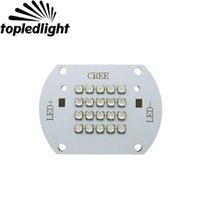Downlights Cree 100 W XT-E Xte Royal Blue 450nm White 6000-6500K Ciepłe 3000K DC28-34V 3000mA High Power LED Lampa Lampa Lampa