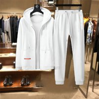 20ss Adam Eşofman Tasarımcısı Erkek Bayanlar Eşofman Suit Hoodie veya Pantolon Tişörtü Suits Fermuarlar Mektuplar Baskılı Sonbahar Kış Erkekler S SPORTYSWEAR PLUS 3XL