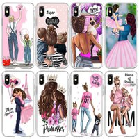 I-phone 13 Mini Pro Max Phone Cases For Iphone 13mini 13pro 13promax 12promax 12 12mini 11promax 11 7 8 6 Baby Mother Queen Little Girl Cellphone Mobile Cell Case