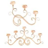 Candle Holders Decorative Holder Tea Light Stand European Candelabrum Buffet Decor
