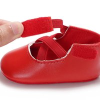 First Walkers 0-18M Walker Shoes Born Baby Girls Boys Soft Sole PU Toddler Crib Moccasin Ball Prewalker Boots Party 2021