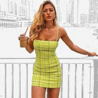 Casual Dresses 2019 Europe and the United States avocado fruit color sexy dress skirt tube chest children skirt WGNVTX15 PHV5
