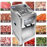 Kommerzielles Fleisch Slicer Messer für Rindfleisch und Hammelfleisch Schneidemaschine Machine Multifunktions-Edelstahl Schneiden Fleischmaschinen Abnehmbare Klingen