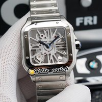 TWF Tom Holland Dumont Saatler WHSA0007 WHSA0015 İsviçre Ronda 4s20 Kuvars Mens İzle İskelet Arama Paslanmaz Çelik Bilezik HWRX Hello_Watch