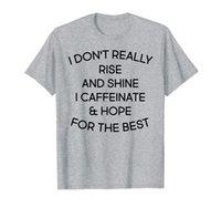 """""""Naprawdę nie wstań i świeci"""" zabawna mama Kawowa koszulka kawy"""