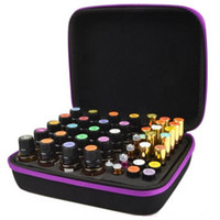 Storage Bags 60 Compartments 10 15ml Essential Oil Collecting Portable Carrying Cases Nail Polish Bag Case