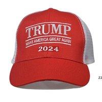 Donald Trump 2024 Cap Clássico Bordado Bordado Bone Com Cinta Ajustável HWB7480