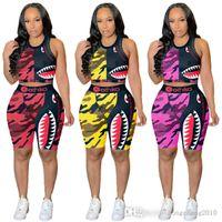 Mulheres verão esportes tracksuits dois pedaços conjuntos letra impressa manga curta t-shirt tassel shorts outfits moda sportswear plus size