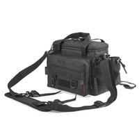 Fishing Accessories Multifunctional Waterproof Lure Tackle Bag Outdoor Waist Shoulder Case Reel Storage 40CmX15CmX22Cm