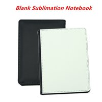 Blank Sublimation Notebook A5 A6 Sublimation PU-Leather Cover Soft Surface Notebook Hot transfer Printing Blank consumables DIY Gifts
