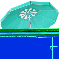 Tents And Shelters MOVTOTOP 6.5ft Beach Umbrella Outdoor Sunshade Crank Adjustable Canopy For Garden Deck Backyard Pool (Petal Pa