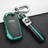 TPU Morbido TPU Custodia per auto Caso Pocket per KIA Sportage Ceed Sorento Cerato Forte 2018 2019 Smart Key Case Accessories
