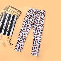 Leggings Baby Pants Girls Tights Kids Dress Leopard Print Trousers Small Feet Autumn Children'S Wear B6349