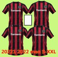 2021 Leverkusen Soccer Jerseys Bayer 04 Palacios Bailey Football Shirts Set Demirbay Volland Tah 20 21 Hombres uniforme