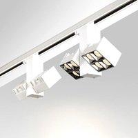 Track Lights 355° Rotating Folding LED 15W 30W 35W Ceiling Spot AC110~240V Background Lighting