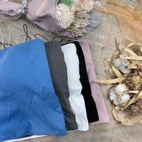 Aceite nuevo pintura niña primavera y verano fondo suspendido suspensión chaleco algodón pequeño fresco slim top ppvx