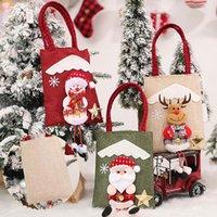 Christmas Decorations Stocking Bags Xmas Santa Kid Gift Candy Bag Sack Filler Treat Shorts Pants