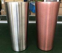 Tumblers 304 Tobe 304 Tasse Coupe Tasse de bureau de grande capacité Couleur en acier inoxydable ATKR