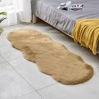 السجاد الموسعة سحابة الشكل البساط لغرفة النوم الحمام الناعمة رقيق السجاد المنزلية قابلة للغسل الحصير عدم الانزلاق منطقة السجاد 8 ألوان