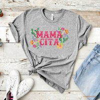 Fashion Couple Set Mamacita Flower Music Shirt Hip-hop Graphic Tee Womens T-shirt Unisex Fans Holiday Outwork Tops&tee 9vy5 9VY5