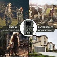 Botão 9 HC801A 1080P HD Cunting Camera Scouting Night Vision IV Wildlife 16MP IP65 PO Trap Câmeras