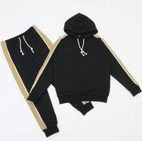2021 Mens Womens Tracksuits Suites Ternos Homens Trilha Suor Terno Casacos Homem Designer Hoodies Calças Capacidade Imprimir Sportswear Alta Qualidade