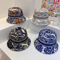 Мода ведро шляпа для мужчин женщина улица крышка вставленные шляпы 19 цвет с буквами высокого качества