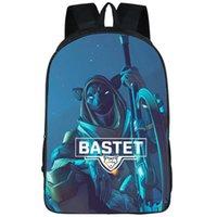 Bastet Backpack Ana Amari Day Pack Challenge Cat مدرسة حقيبة لعبة Packsack Quality Rucksack Sport SchoolBag في الهواء الطلق Daypack