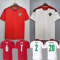 2021 Morocco soccer jerseys home away 20 21 maillot de foot ...