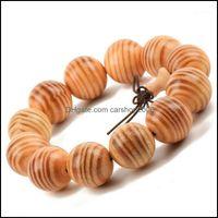 Frisado, pulseiras jóiasBeaded, fios Agathis AlbaPrayer contas pulseira elástica dragão de sangue buddha oração budista para homens mulheres 15