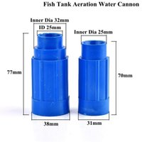 Watering Equipments Inner Dia 25 32mm Fish Tank Aeration Water Outlet Wave Maker Pipe Connector Aquaculture Increase Oxygen Aquarium Accesso