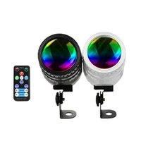 20 pcs 4 em 1 15w mini spotlight RGBW LED Beam Spot Lights Efeito de palco Iluminação luz para espelho Ball Club Party Bar DJ Eventos