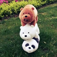 Lovely item We Bare Bears Plush baby Toys dolls Stuffed animals kids Gifts16'' for Exquisite Christmas gifts