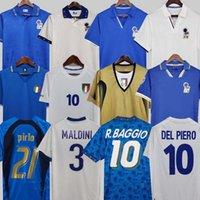 1982 İtalya Retro Futbol Forması 1990 1996 1998 2000 Ev Futbolu 1994 Maldini Baggio Donadoni Schillaci Totti del Piero 2006 Pirlo Inzaghi Buffon