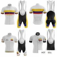 2020 새로운 자전거 팀 짧은 소매 5D 젤 패드 Maillot Ciclismo 남자 사이클링 저지 여름 통기성 의류 세트