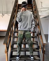 Feel of God Co Branded Nk Hip Hop Oversized Round Neck Sweater