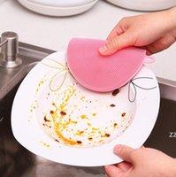 Cucina multifunzionale Spazzola per lavastoviglie Silicone Silicone Cassaforte Non-Stick Eletica Salviettine Isolanti di isolamento termico Pads Coasters Brushes Pots e HWD8304