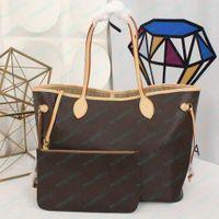 Bolsa bolsa bolsa bolsa de ombro alta Qulity clássico de couro de embreagem de couro moeda bolsas mm 32cm / gm 40cm